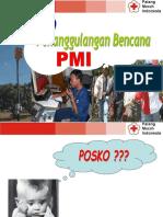 POSKO PENANGGULANGAN BENCANA PMI, jateng 8-6-09.ppt