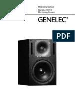 Genelec OM 1031a