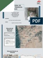 Plan de manejo de residuos Pimentel
