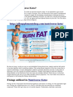 What Are The Extracts Of Nutriverse Keto?
