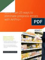25ways to eliminate prepress errors