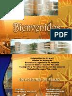 TEMA 8 - ESTACIONES DE FLUJO