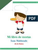 Isaac Recetas Deber