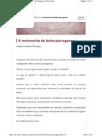 A Reviravolta Da Bolsa Portuguesa