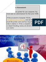 1 business writing - preliminaries - oct2014