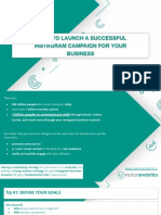 5 Tips to Launch a Successful Instagram Campaign for Your Business