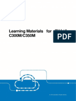 Learning Materials for ZXA10 C300M and C350M