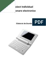 Proiect Dictionare electronice