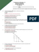 TQ PRINCIPLES OF ECONOMIC