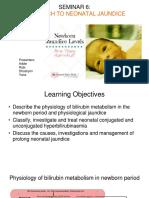 Seminar 6 Approach to neonatal jaundice.ppt