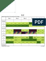8.2 Sem02 Timetable