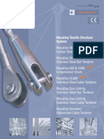 Macalloy Tension Structures Brochure Including s460 in American