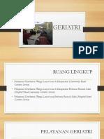 PAPARAN geriatri a
