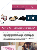 Candle Light Valentine's Dinner With Induction Cooking
