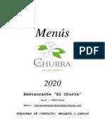 MENUS 2020