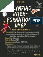 Olympiad inter-formations V0