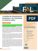 (5) La brecha de la estructura economica y las inversiones en America Latina