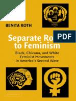 Chicana, Black and White Feminism