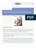 Difference Between Nationalism and Patriotism Difference Between | Difference Between.pdf