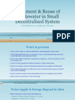 CTS-Small Wastewater Treatment System