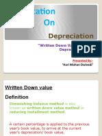 Depreciation By Ashish Dwivedi
