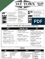 Beer - Wine - Cocktails_Dinner 11-26