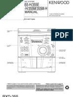 Kenwood-RXD-355-Service-Manual