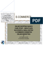 E-commerce - Case Study  - Online Shopping Malls - Basics -