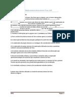 Ficha de consolidação estrutura interna da terra 7º ano