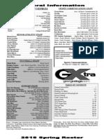 2010 Spring - Media Guide