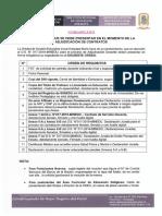 ORDEN DE DOCUMENTOS CONTRATO DOCENTE 2020