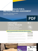 2019 LibTech - SCORM Modules for IL Instruction and Assessment.pptx
