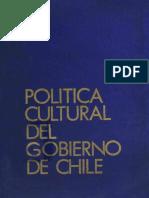 Politca cultural de gobierno_1975