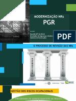 PGR modernização