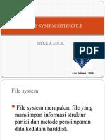 File System/ Sistem File