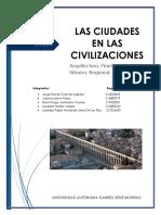 Tema (Las ciudades en las civilizaciones)