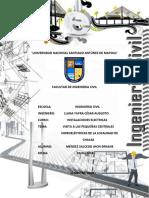 informe de centrales hidroelectricos