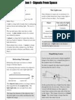 SG Space Physics Summary Notes