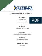 Procedimiento de seleccion y contratacion del personal