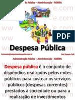 ADMPA - 13 - Despesas Públicas