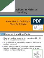 2. Material Handling