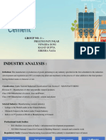 CEMENT INDUSTRY GROUP 1.pptx