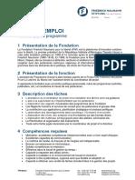 2019-02-03 FFN Maroc - Offre d'Emploi CP