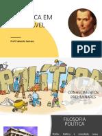 A POLÍTICA EM MAQUIAVEL SALOMÃO SANTANA.pptx