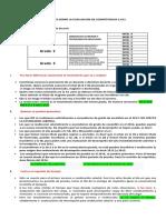 ACLARACION DE DUDAS EVALUACION DE COMPETENCIAS  Y CLASIFICACIÓN EN EL ESCALAFON SALARIAL