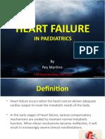 Heart Failure in Paediatrics