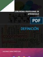 Comunidad Profesional de Aprendizaje.pptx