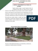 USO Y MANTENIMIENTO DE PARQUE.docx