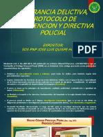 FLAGRANCIA DELICTIVA, PROTOCOLO Y DIRECTIVA.pptx