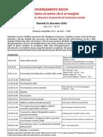 """21.12.10 A Pisa il convegno """"Diversamente ricchi"""""""